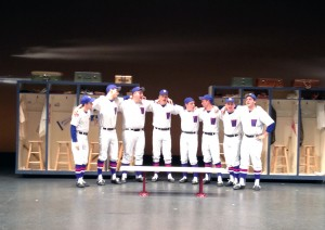 "The cast performs the song ""Heart"" from ""Damn Yankees"" for the WDRB Fox 41 Morning Show on Wednesday, Nov. 13."