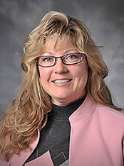 IU Southeast Assistant Professor of Strategic Management and Entrepreneurship, Lisa M. Russell