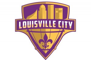 Louisville City Football League logo, designed by IU Southeast grad, Michael Manning.