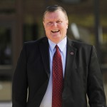 IUS 2014 New Chancellor Ray Wallace campus visit