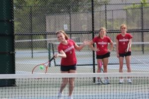 IU Southeast Women's Tennis Team