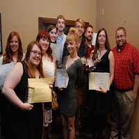 IU Southeast students take home majority of collegiate awards at local Society of Professional Journalists banquet