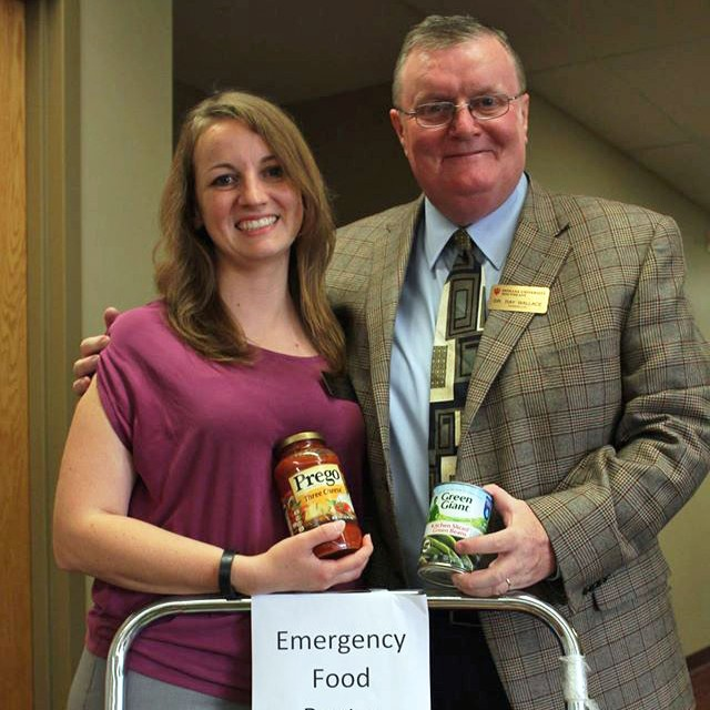 IU Southeast opens Emergency Food Pantry