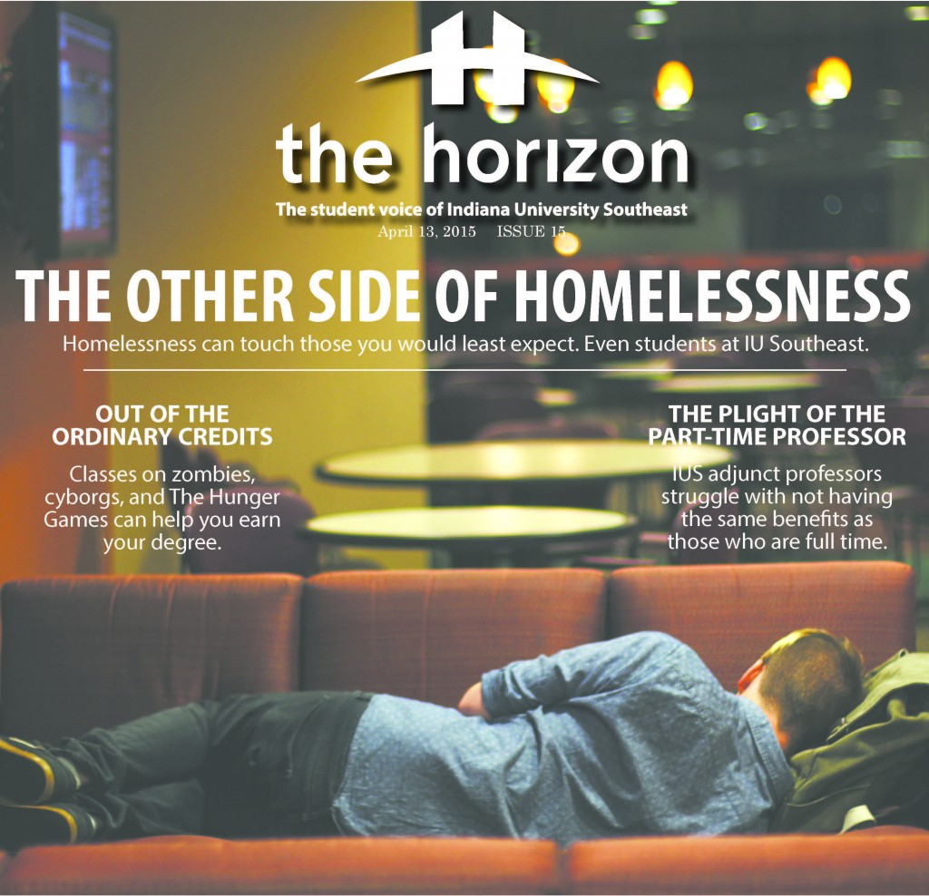 The cover of one of the issues of The Horizon that the staff submitted for the Pacemaker award.