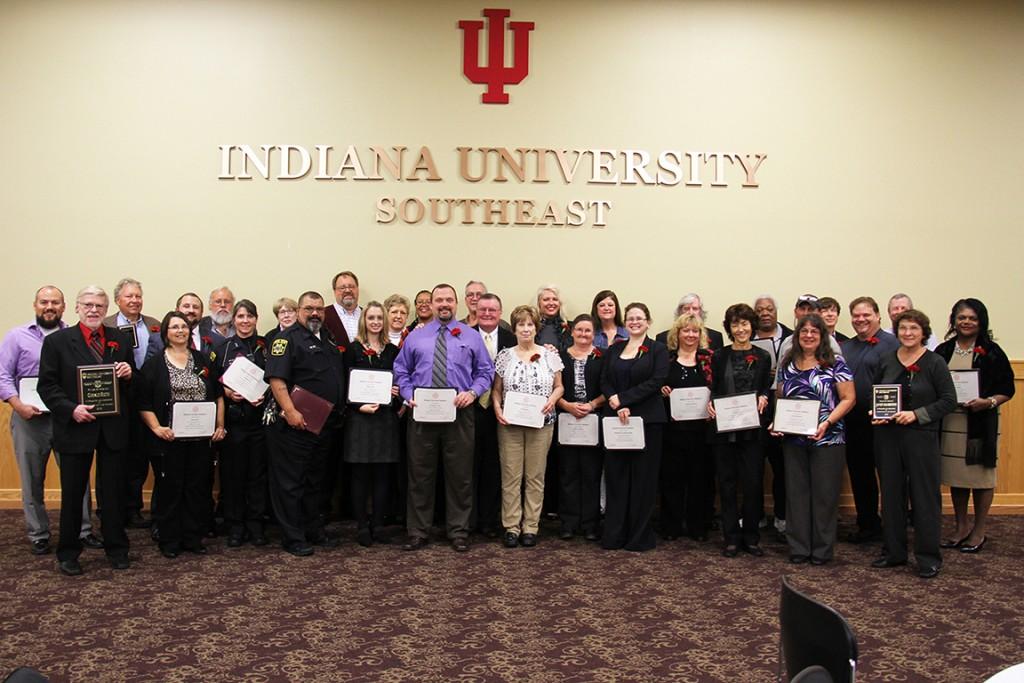 IU Southeast recognized its D