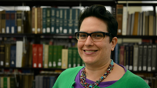 Maria Accardi is helping to redefine the library as an engine of teaching and learning.