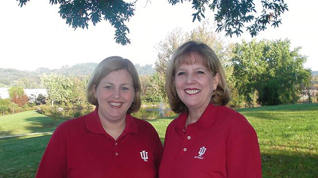 Professors Jacque Singleton and Deborah Mink