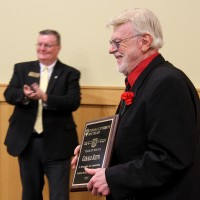 IU Southeast honors long-time faculty and staff for service to university