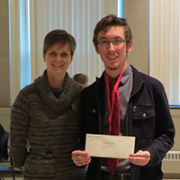Grenadiers gain scholarships and experience at IU Undergraduate Research Conference