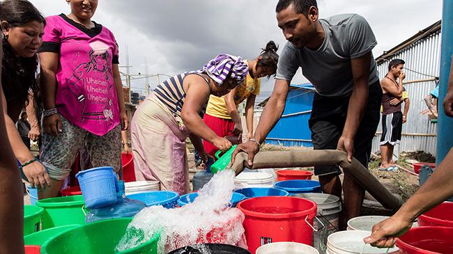 WaterStep brings safe water to Nepal