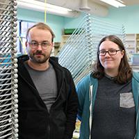 IU Southeast printmaking students honored