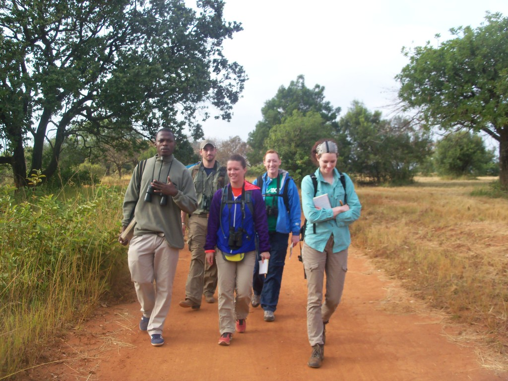 Students from the IU Southeast Field Biology program on the 2014 trip to South Africa.