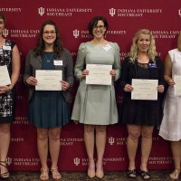 Five IU Southeast students honored at Women Helping Women philanthropy awards luncheon