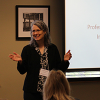 Professional development is focus of inaugural adjunct faculty scholars conference