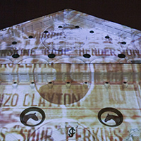 IU Southeast fine arts faculty create video projection for opening night at Churchill Downs