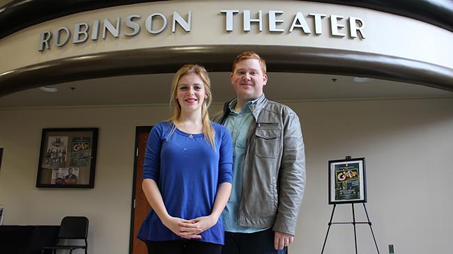 Tim Stucky and Sarah Inman
