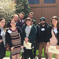 Journalism students win big at Indiana Collegiate Press Association convention