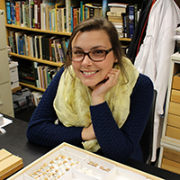 Student Research Focus: Morgan Heldt-Davis investigates population genetics and natural selection in moths