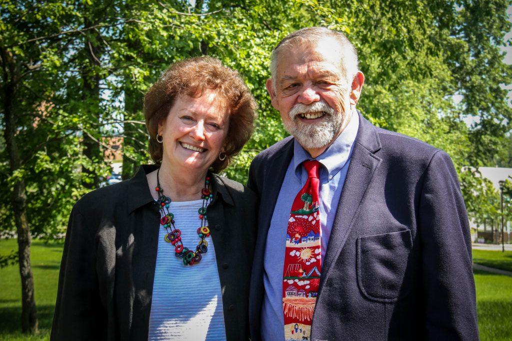 Sheila and Jerry Wheat, both IU Southeast alumni, have announced a gift to create a new scholarship for School of Business students.
