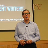 Noted literacy educator Kelly Gallagher caps 14th IU Southeast Writing Project
