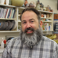 Brian Harper is awarded grants to lecture at international ceramics conference