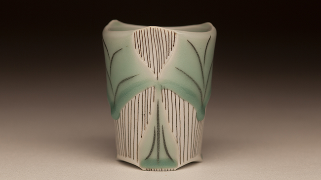 Ceramic cup by Wooten