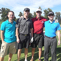 School of Business Golf Scramble: students, faculty and local business leaders tee off for success