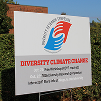Diversity Research Symposium drives climate change–in a good way