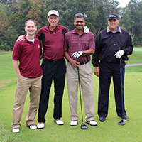 School of Business golf scramble a win for student scholarships, orgs