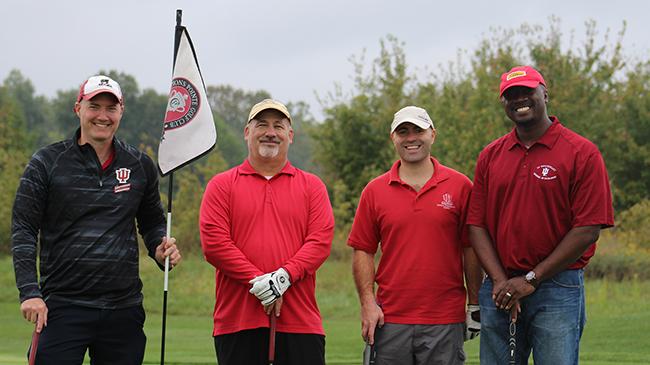 Shane Thomas, Chris Cox, Ryan Norwood and Jason Meriwether of IU Southeast