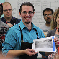 Ross Mazzuppa demonstrates photo intaglio