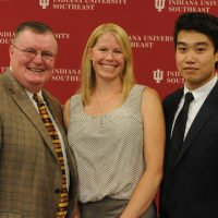 IU Southeast brings scholarship donors, recipients together