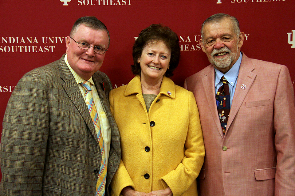 Sheila and Jerry Wheat, both IU Southeast alumni, have announced a $1 million gift to fund their scholarship for School of Business students.