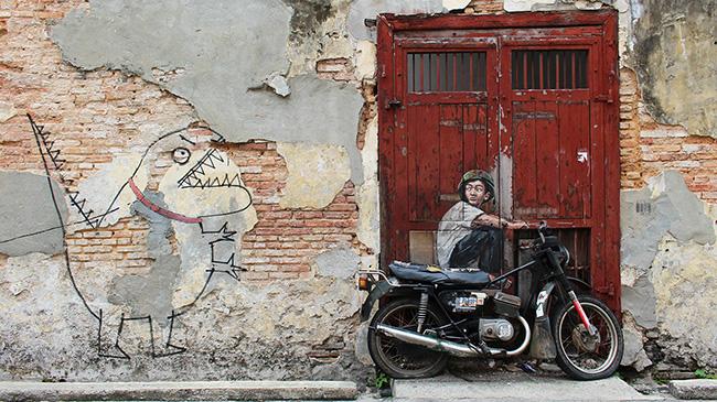 Kid Biker by Kok Chow Yeoh