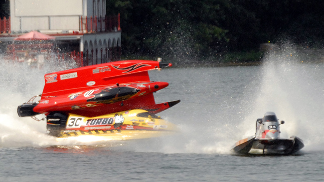 Paul Pittman in speedboat crash