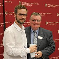 John Grant and Chancellor Dr. Ray Wallace
