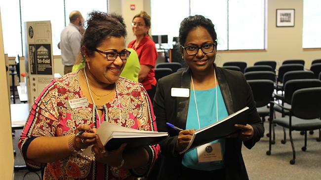 Judges Shifa Podikunju-Hussain and Rachel Star.