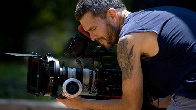 Camera operator on set