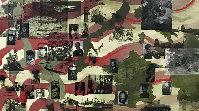 Veterans for Peace mural