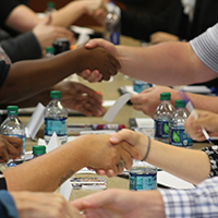 Soft skills front and center at pilot speed-networking session