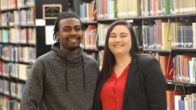 Le'Roy Ford and Hayley Jackey presented impressive research at the American Society of Criminology conference in Philadelphia, Pennsylvania.