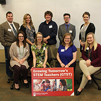 Local educators in STEM fields gather to launch grant program