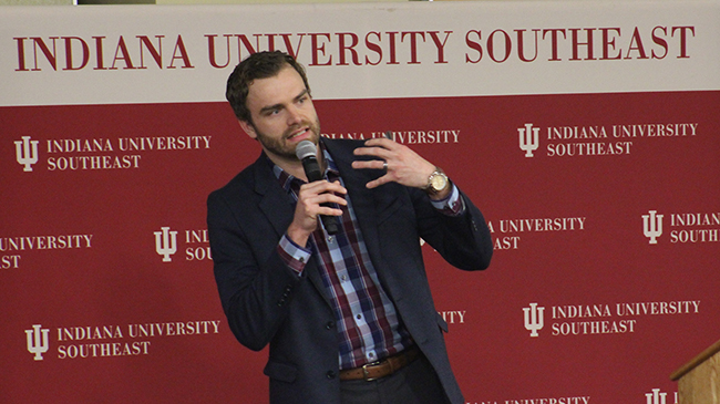 Shawn Farris, IUS alumnus and data analyst with Edj Analytics