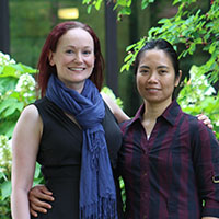 Margot Morgan and Faye Camahalan receive prestigious Mack Fellowships