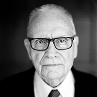 Portrait of Lee Hamilton, a former member of the United States House of Representatives