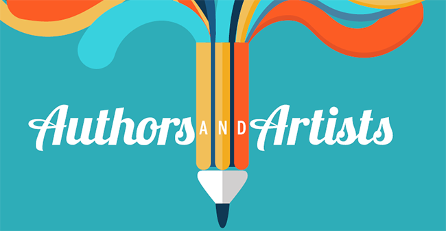 Authors and Artists graphic