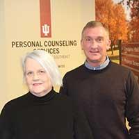 Anita Kraft and Dr. Michael Day.