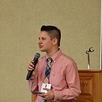 Keynote speaker KD Roche.