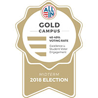 IU Southeast receives Gold Seal award for increased student voting