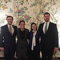 IU Southeast finance team scores second place at CFA Challenge